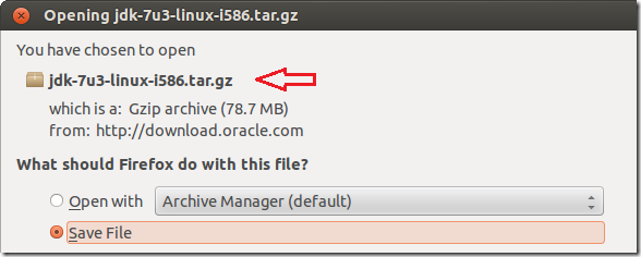 Install oracle java jdk 7 in ubuntu 12. 04 (precise pangolin.
