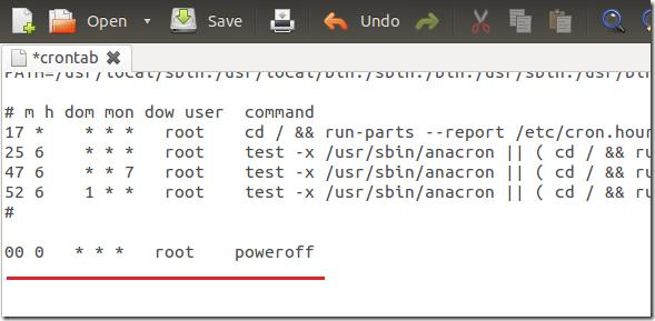 Schedule Tasks to Automatically Shutdown / Restart Ubuntu