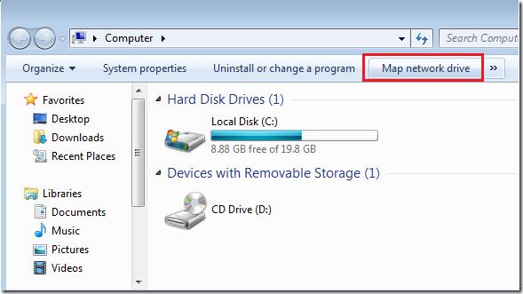 Windows 7 vs. Ubuntu 12.04: How to Map Network Shares ... on