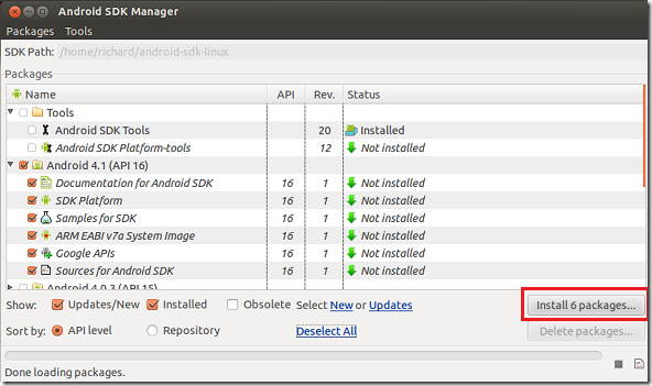 updating path in linux