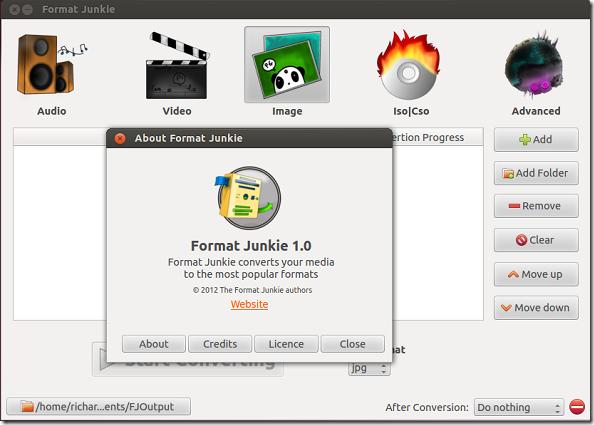 Format Junkie conversor video, imágenes, audio, ISO...