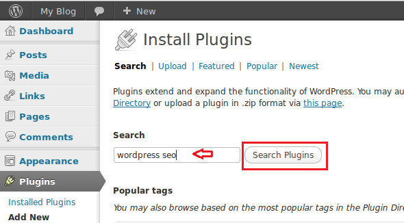install plugins in wordpress cms to enhance your blog