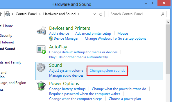 how to play sounds backwards windows 8