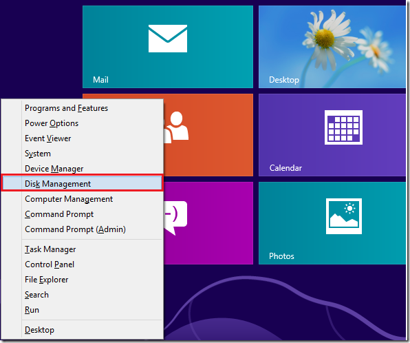 how to change partition size in windows 8