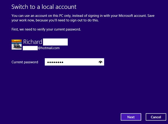 how to create microsoft account in windows 8