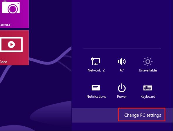Turn Off Typing Sound in Windows 8 Tablet | Liberian Geek