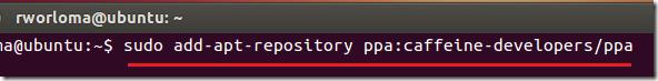 caffeine_ubuntu12_install