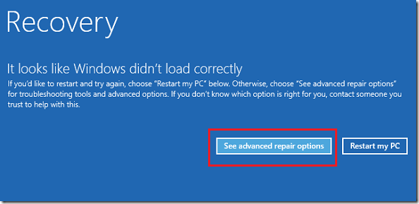 how to reboot your pc windows 8