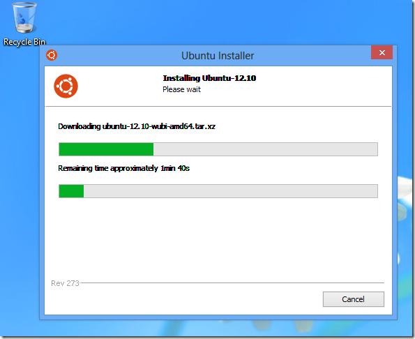 wubi ubuntu 12.10