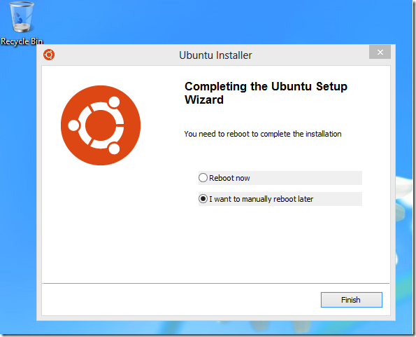 install ubuntu quantal quetzal in windows 8 using wubi liberian geek. Black Bedroom Furniture Sets. Home Design Ideas