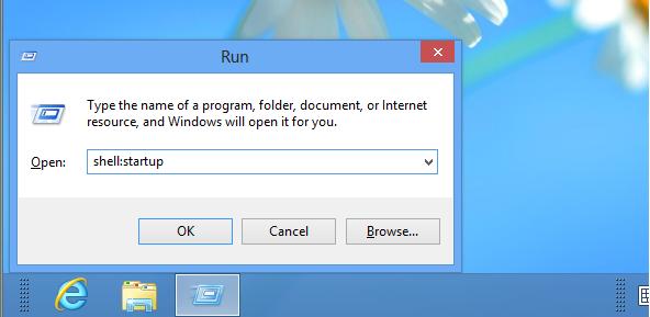 windows 8 see startup programs