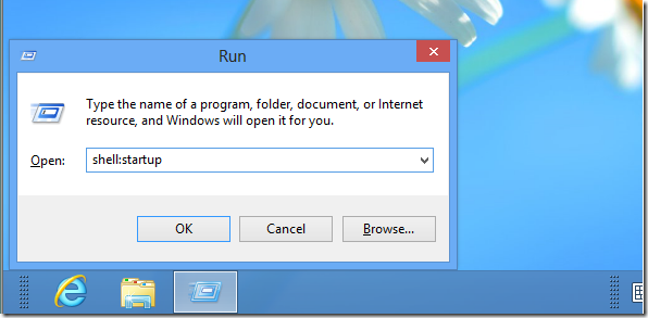How To Automatically Start Programs In Windows 8