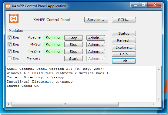 XAMPP–Another Alternative To LAMP For Windows, Mac And Linux