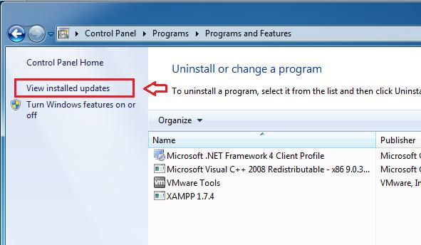 How To Downgrade From Internet Explorer 10 Windows 7