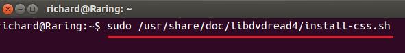 how to enable dvd playback in ubuntu 1210 1304 raring