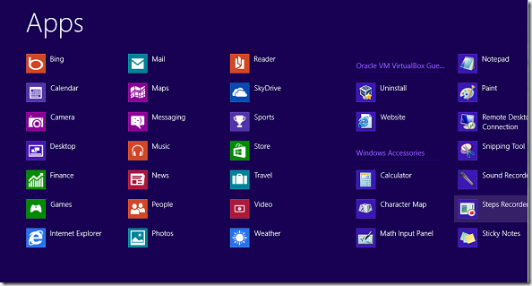 How to access all programs in windows 8 liberian geek for Windows programs