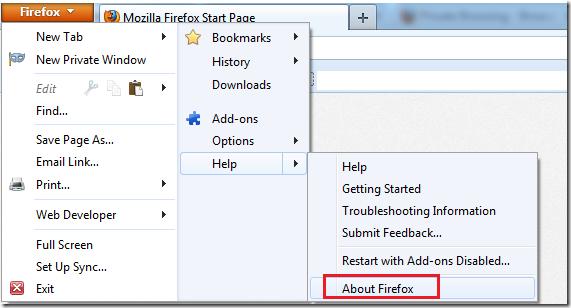 Firefox 20 0 Released–How To Upgrade In Windows, Mac or Ubuntu