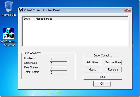 Use Microsoft Owned Virtual CD-ROM Drives In Windows XP