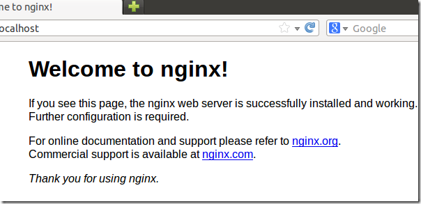 Switching To Nginx From Apache To Host Wordpress–Final Post