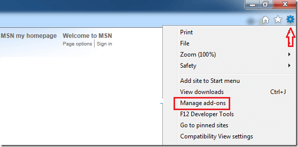 Internet-explorer-add-ons