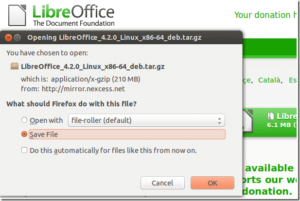 Daily Ubuntu Tips – How To Manually Install LibreOffice In