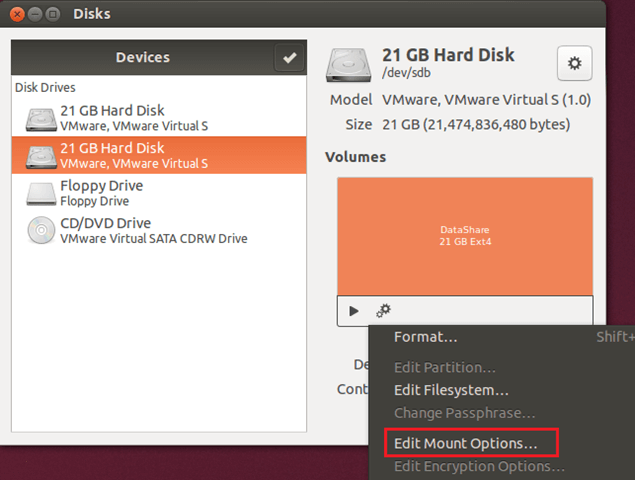 Daily Ubuntu Tips Mount Partitions In Ubuntu From Your