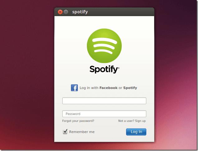 spotify-client-ubuntu