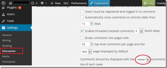 wordpress-comment-display
