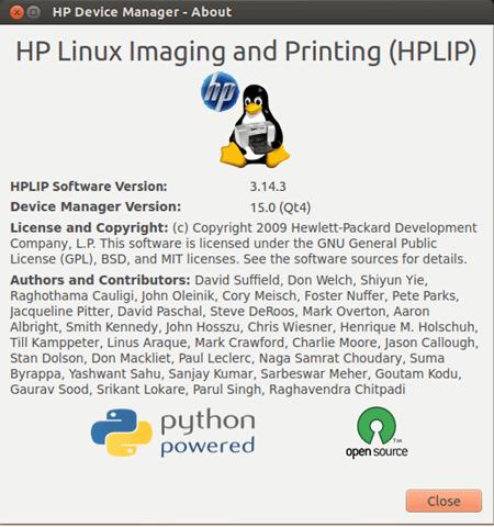 how to run hplip in ubuntu