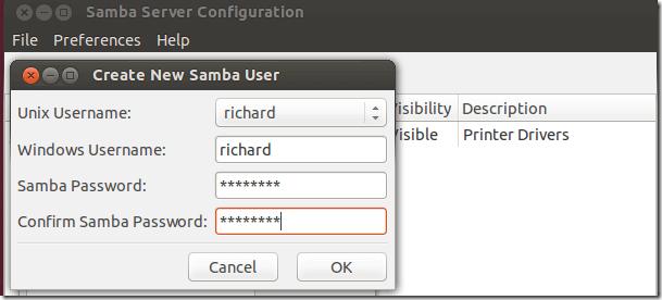 Samba In Ubuntu Linux – Adding Samba Users | Liberian Geek
