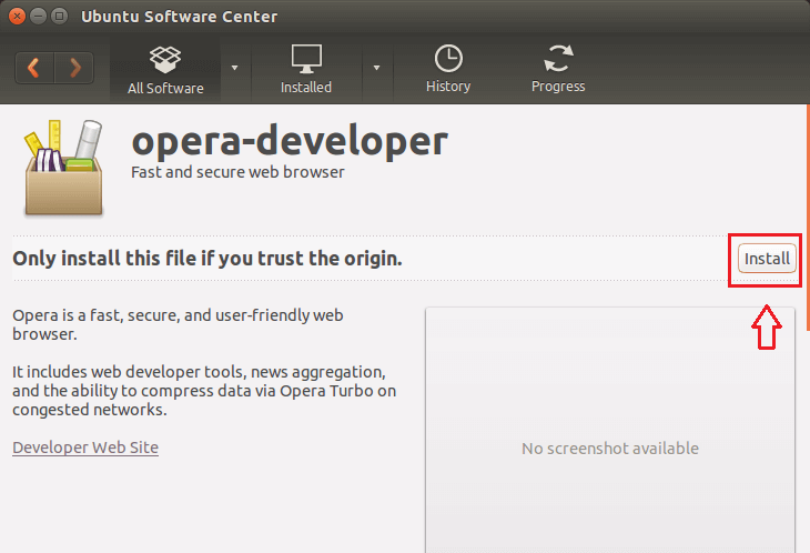 Ubuntu Tips -- Install Opera Web Browser 24 0 In Ubuntu