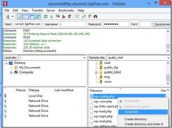 wordpress-edit-files