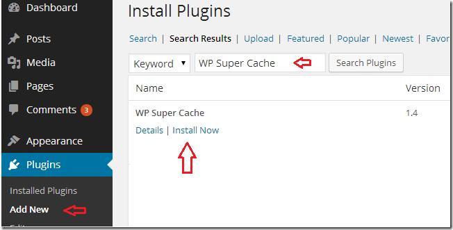 wordpress-wp-super-cache