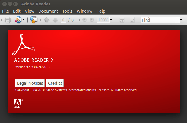 Install Adobe Reader in Ubuntu