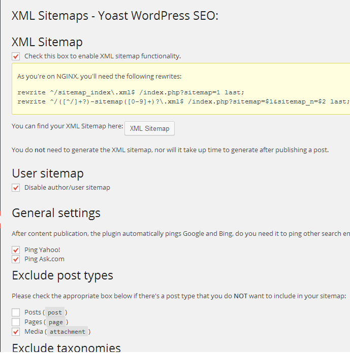 Yoast WordPress SEO Plugin