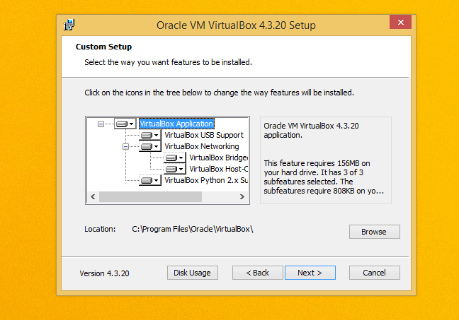 virtualbox-installation