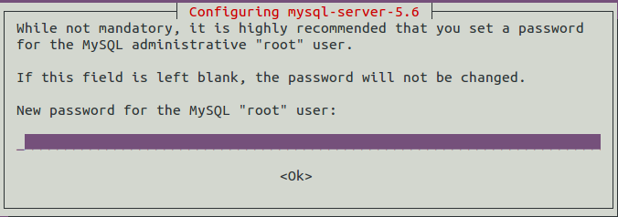 mysql server installation