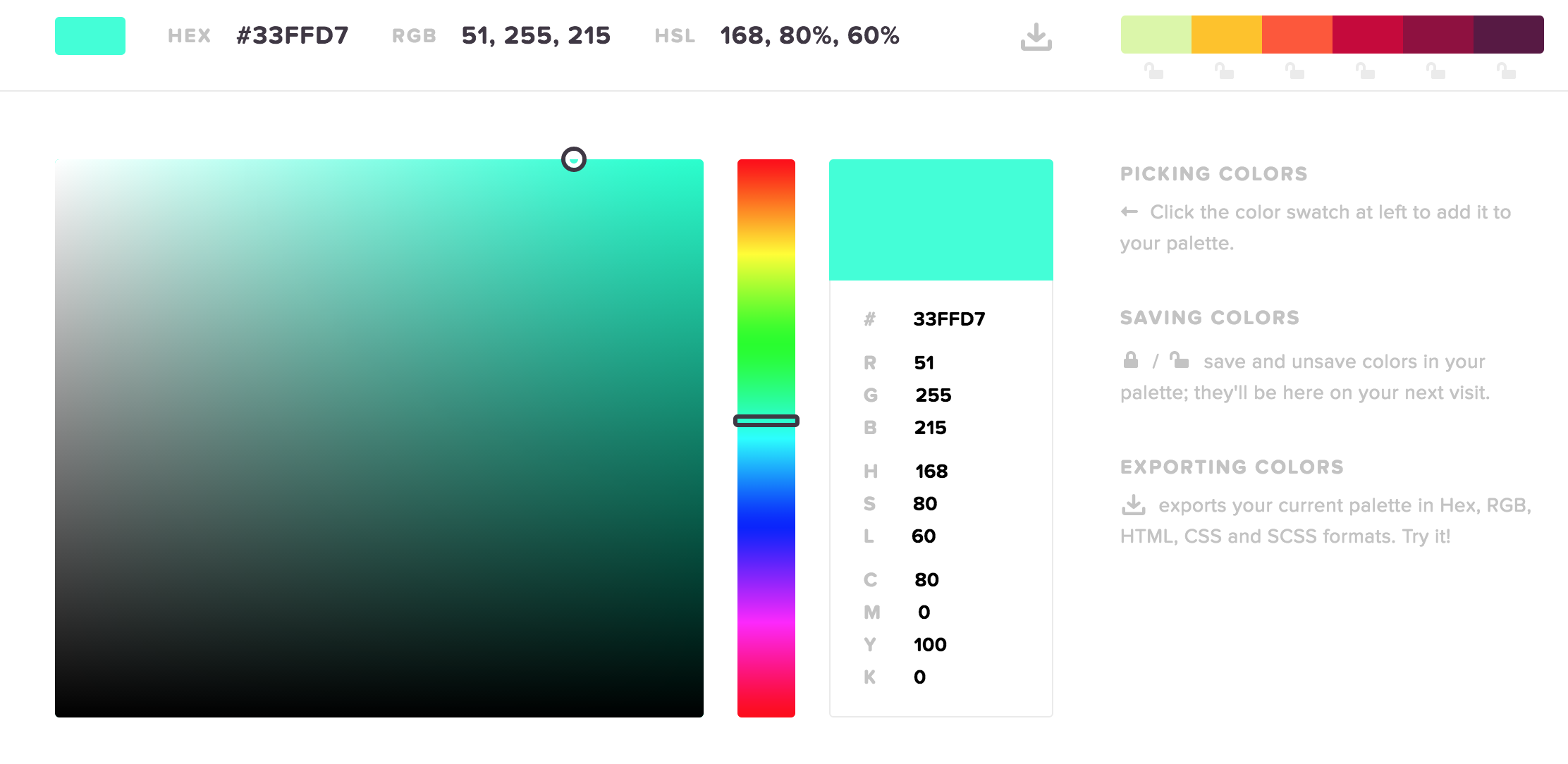 5 Best Color Picking Tools for Your Front End Projects | Liberian Geek