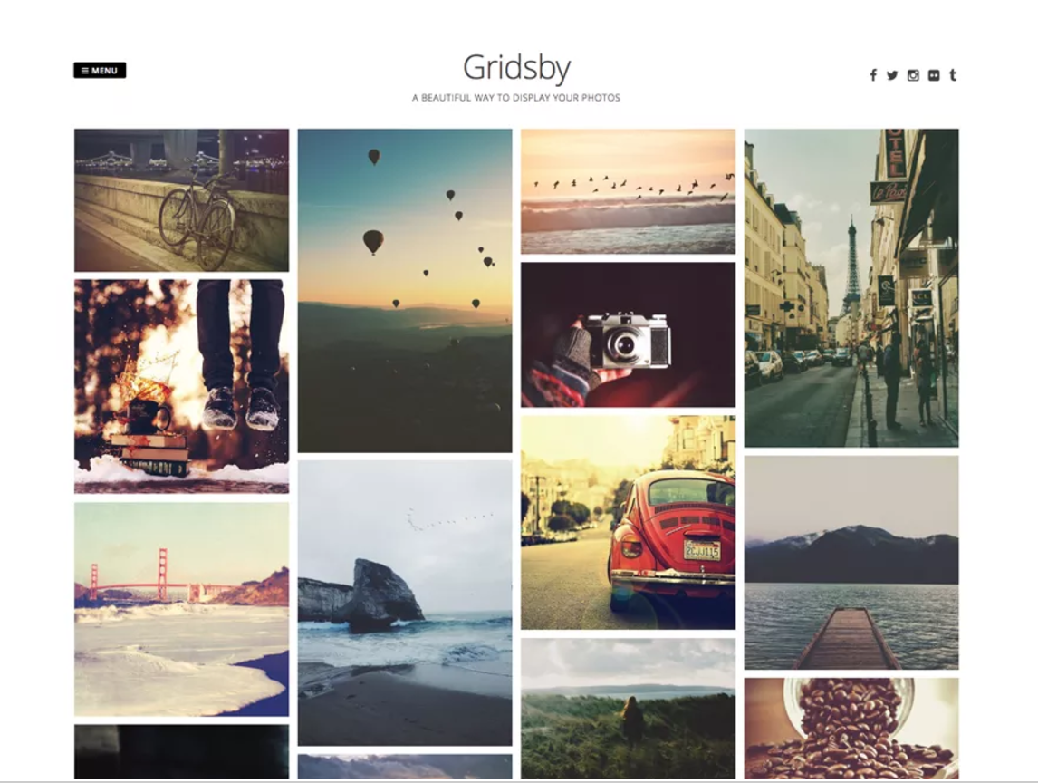 6 Free WordPress Themes for Photographers