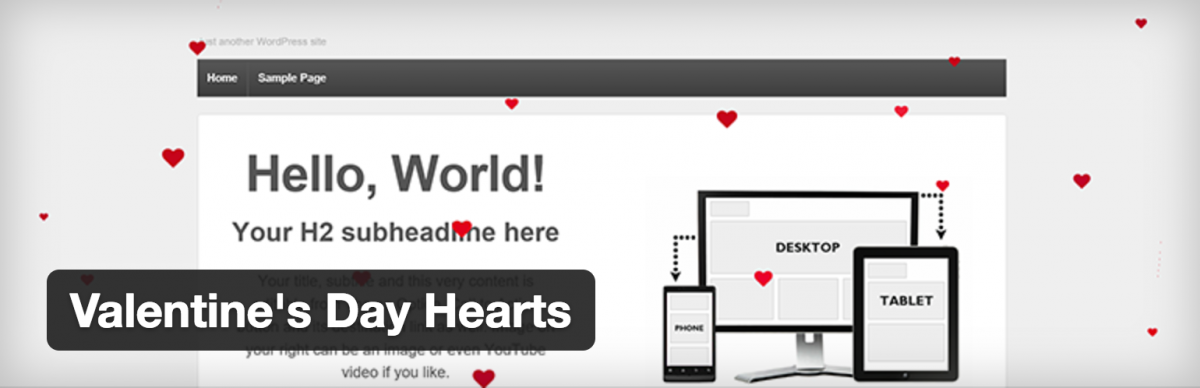 The Best WordPress Plugin for Valentine's Day