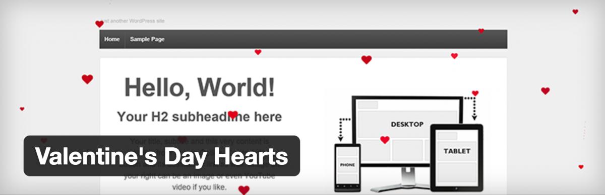 The Best WordPress Plugin for Valentine's Day