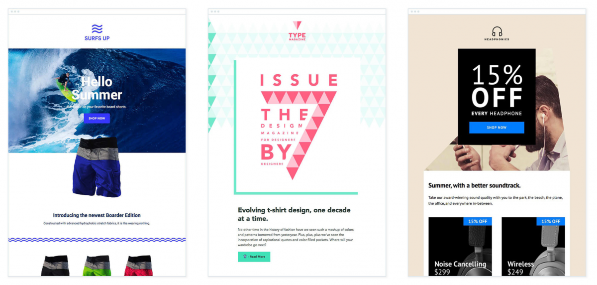 8 stylish and free responsive email templates
