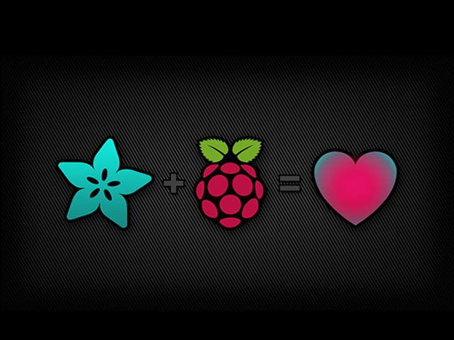 Flower, raspberry and heart shapes