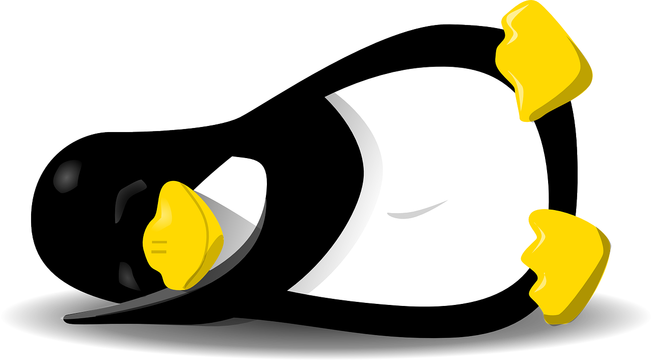 Sleeping linux symbol
