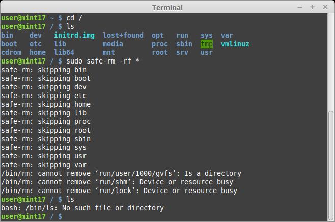 Terminal data