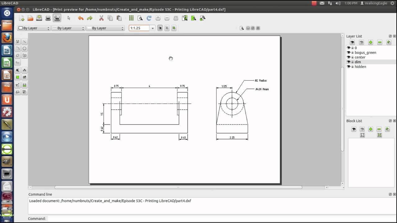 LibreCAD Tutorial